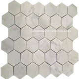 Mosaicos de mármol hexagonales de la alta calidad para 2016