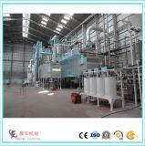 Alimentação da cabra que faz a máquina para o moinho grande do processamento de alimentação
