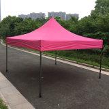전망대가 3X3m 분홍색 최고 옥외 접히는 닫집에 의하여 갑자기 나타난다