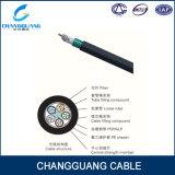 Cable óptico acorazado trenzado GYTS de fibra del tubo flojo