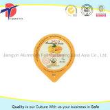 Selo impresso alta qualidade da folha de alumínio de China para o copo do queijo
