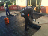 Membrana Waterproofing material do betume subterrâneo aplicado da tocha