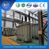 110kV in olie ondergedompeld ontlaad de kraan-veranderende Transformator van de Macht