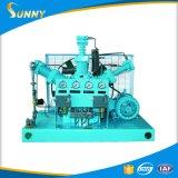 L'oxygène exempt d'huile à haute pression de poussée de pompe de gavage de l'oxygène de piston pour les cylindres remplissants