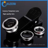 3 dans 1 oeil de poissons universel d'objectif de caméra de clip de lentille, grand-angulaire, instruction-macro pour l'iPhone 4/5/6/6 positif