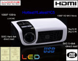 Mini projetor C5 holográfico