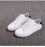 Zapatos de cuero clásicos del ocio de la zapatilla de deporte de la manera