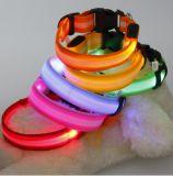 LED 개 목걸이, 애완 동물 가죽끈, 개 목걸이 (SM-F-0095)