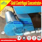 Máquina de processamento elevada do ouro da relação da recuperação de 99% para a separação aluvial do ouro da areia