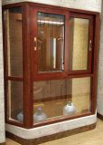 De klassieke Woodgrain Erker van het Aluminium (bha-CW21)