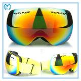 Occhiali di protezione di sci anti di scossa del PC di vetro Sporting ultravioletti dell'obiettivo