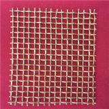 スポット溶接の端または包まれた端が付いている編まれた金網か打ち抜かれたフィルターディスク