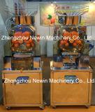 Máquina alaranjada fresca comercial do suco da romã
