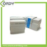 Carte sèche d'identification d'IDENTIFICATION RF de PVC de jet d'encre de proximité d'OIN de blanc