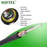 Câble optique ADSS extérieur aérien d'Otdoor de fibre