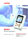 op Sale! De handbediende Analysator van de Urine van de Interface Microusb en Bluetooth