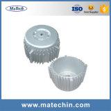 주문 알루미늄 합금 주입은 주조 LED 주거를 던지는 정지한다