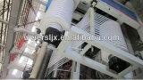 Extrusora de parafuso gêmea para a linha de produção UV da borda de borda do PVC da impressão
