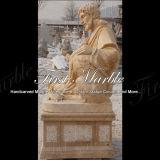Statue Main-Découpée Ms-914 de calcium d'antiquité de granit de pierre de marbre de sculpture