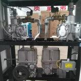 Posto de gasolina com 4 grandes displays LCD e 2 bicos