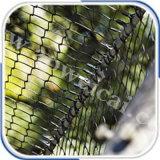 動物はロープの網をおりに入れる