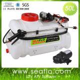 Pulverizador elétrico para equipamento de pulverização de plástico agricultural ATV Seaflo 50L 12V