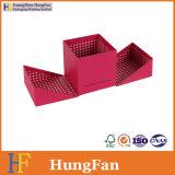 Rectángulo de almacenaje de empaquetado de papel plegable modificado para requisitos particulares de la insignia