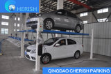 Elevatori idraulico di parcheggio dell'automobile/automobile del quattro alberino di alta qualità