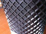 Belüftung-Förderband PU-Förderband mit Bügelen und Führung