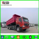 HOWO 30ton Lorry Tipper Camión 336HP Carro de vaciado pesado