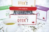 차 체중 감소 차 (박하 취향)를 체중을 줄이는 유기 초본 Detox 차