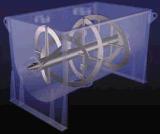 50-300L 실험실 분말을%s 수평한 두 배 리본 믹서