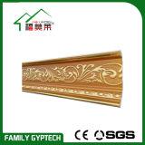 Goldenes Farbe Kurbelgehäuse-Belüftung, das für Tür-und Fenster-Dekoration formt