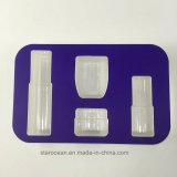 Plateaux de PVC de Vide-Thermoform pour des produits de beauté avec le carton