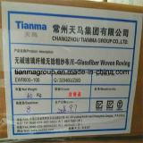 Vagabundagemes tecidas fibra de vidro 300g do E-Vidro