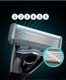6 capas de las láminas de la maneta de la maquinilla de afeitar con una lámina del condensador de ajuste 6+1 de Preicision