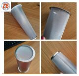 Цилиндр фильтра кофеего нержавеющей стали качества еды мелкосеточный