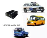4 черный ящик автомобиля передвижной DVR/автомобиля DVR/GPS канала (HT-6705)