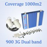 servocommande à deux bandes de signal de téléphones cellulaires du gain 2g&3G 65dB avec les fournisseurs omnidirectionnels d'antenne de plafond du dôme 5dB