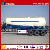 디젤 엔진 - 강화된 3 Axles 30-60 Cbm Bulk Cement Trailer