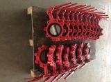 연성이 있는 철 중앙선 나비 벨브 (단 하나 줄기)