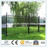 Cerca decorativa del metal de la cerca del hierro labrado de la alta calidad