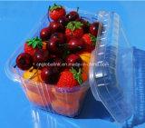 Contenitore impaccante della frutta di plastica dei cestelli della copertura superiore 900 grammi per l'uva