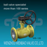 API6d Fully Welded Trunnion Mounted Ball Valve for Natural Gas