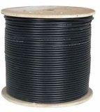 Напольный кабель LAN FTP Гел-Заполненный Cat5e твердый