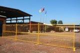 Cerca provisória da cerca ao ar livre para o canteiro de obras