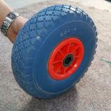 정원과 시멘트 지면 편평한 자유로운 PU 거품 바퀴