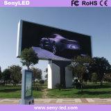 Cartelera publicitaria video al aire libre de la visualización de LED de la tarjeta (P10mm)