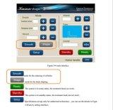 Cellulite-Verkleinerungs-Einheit Sincoheren Kuma Karosserien-Formung (RF+Vacuum+infrared+massage Rolle)