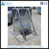 Barricada Foldable de alumínio da barreira do controle de multidão